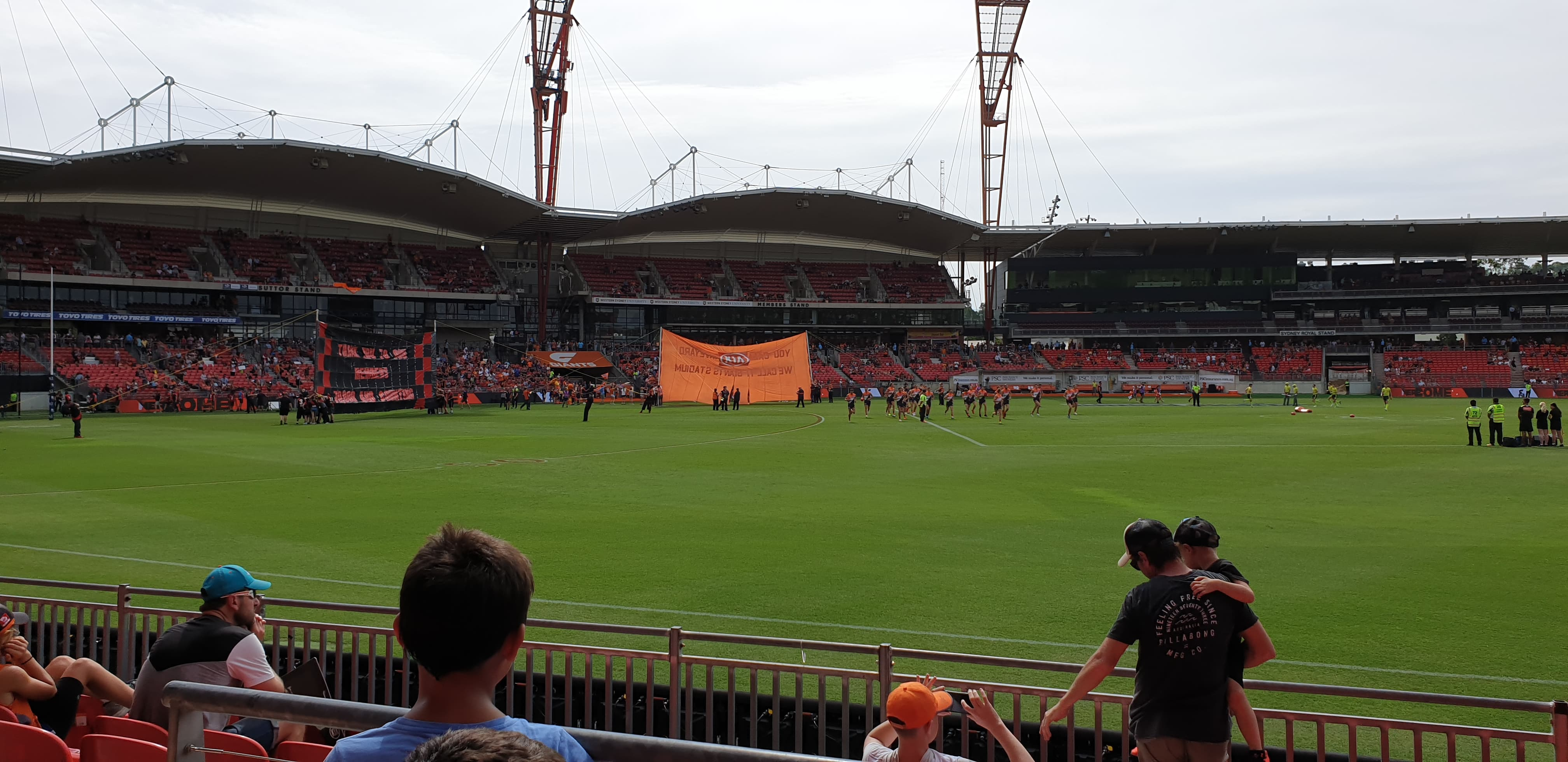 Giants Bombers Round 1 2019