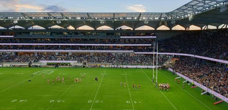 Bankwest Stadium Opening Eels Tigers
