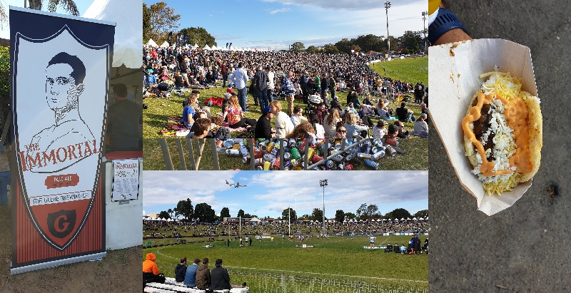 Henson Park Beer Footy Food 2019